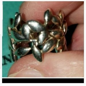 TIFFANY PICASSO OLIVE BRANCH RING SIZE 6